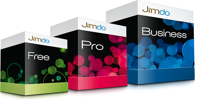 Jimdo-Pakete