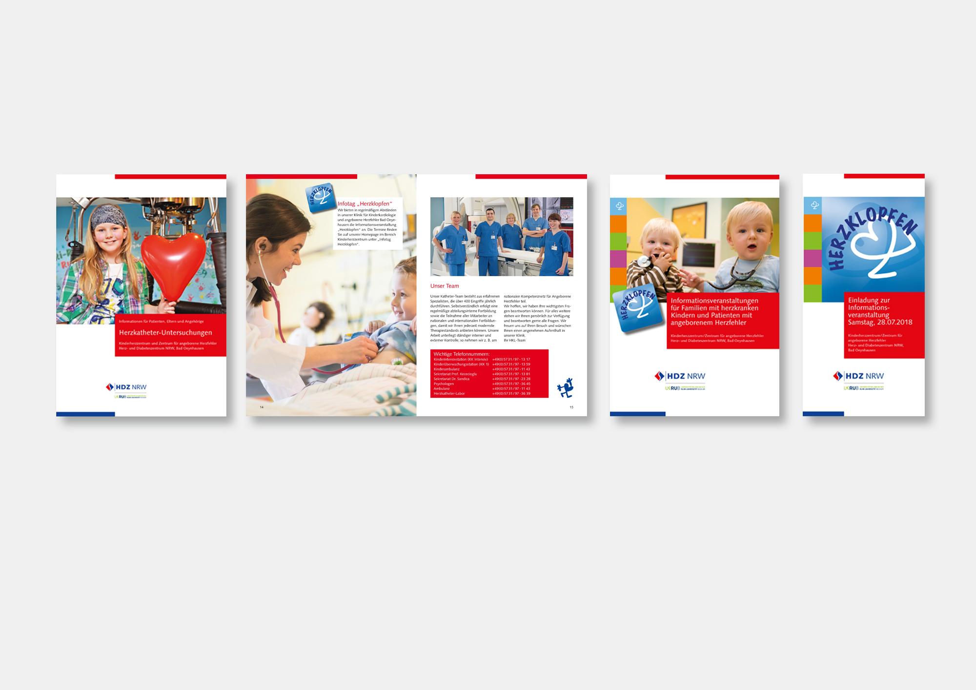 HDZ NRW Klinik für Angeborene Herzfehler · Informationen für Patienten, Eltern und Angehörige · Produktion in Zusammenarbeit mit der Presse- und Öffentlichkeitsarbeit HDZ