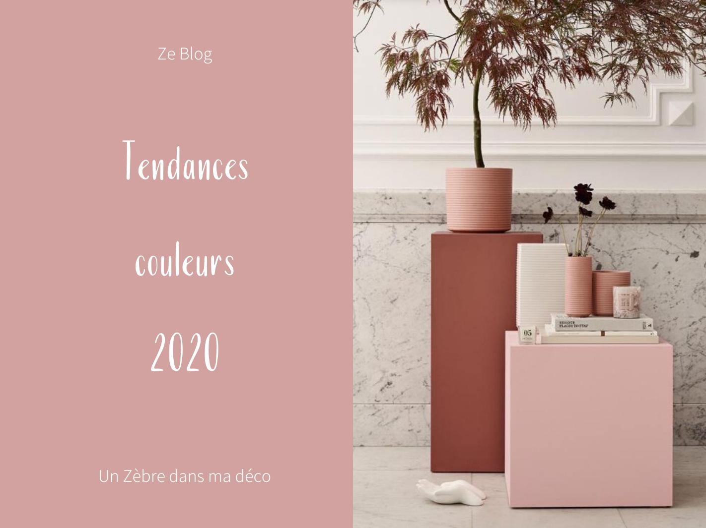 Les Tendances couleurs 2020