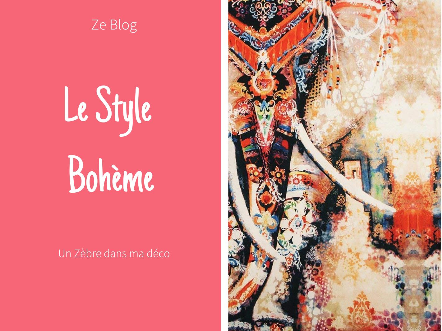 Le Style Bohème chic