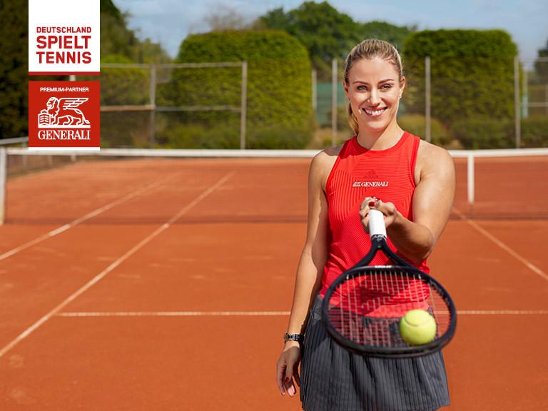 Deutschland spielt Tennis! Eberstadt auch!