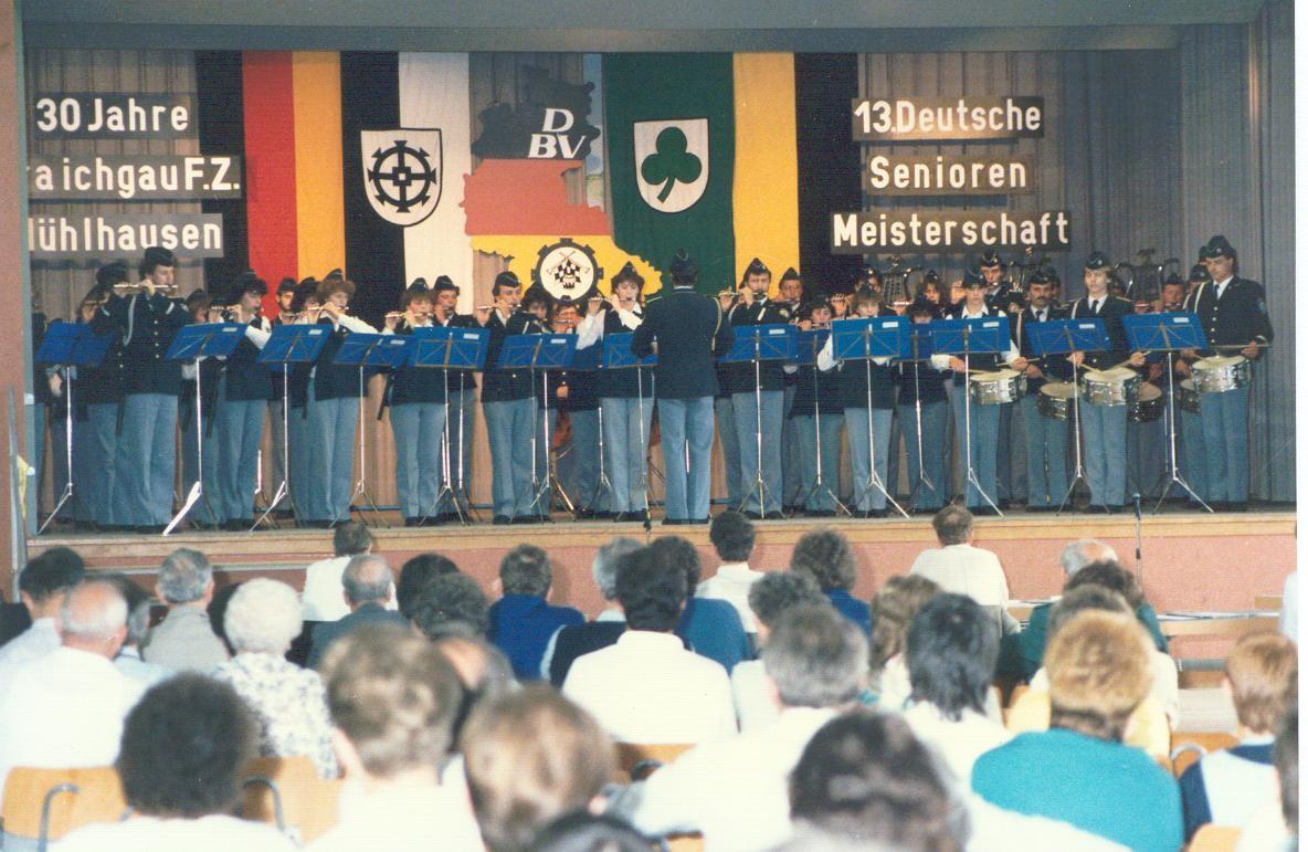 Deutsche Meisterschaft in Mühlhausen - 1986
