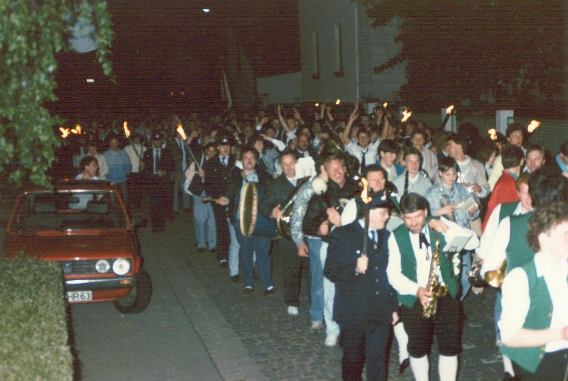 Erfolgsfeier Festzug - Dülmen - 1988