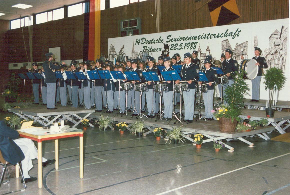 Deutsche Meisterschaft in Dülmen - 1988