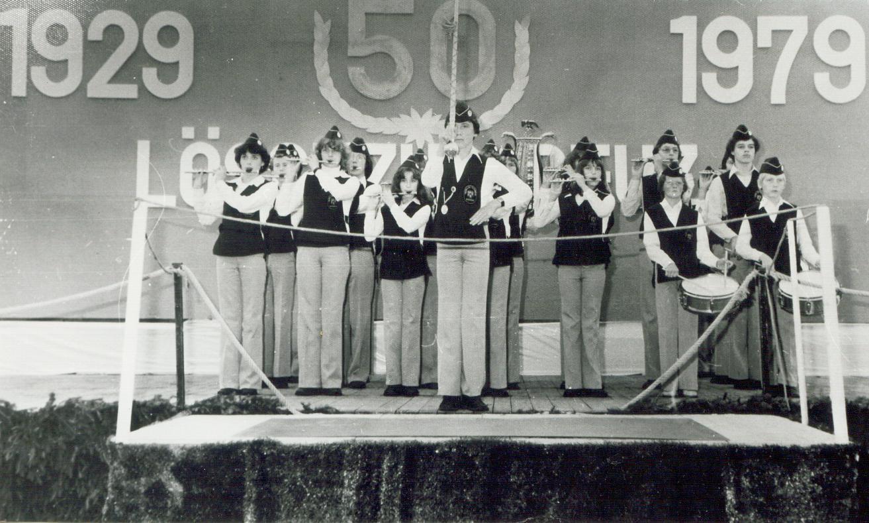 Wettstreit in Deutz - Jugendzug - 1979