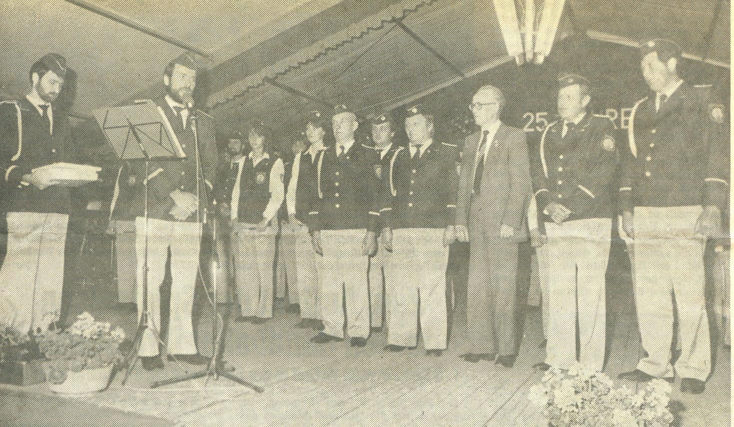 Ehrung der Gründungsmitglieder - 1985