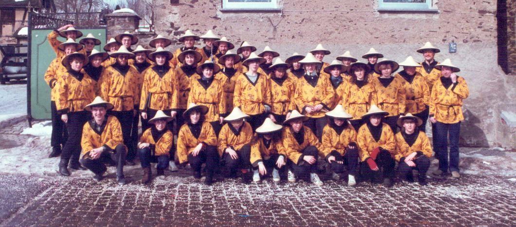 Fastnacht in Binningen - 1985