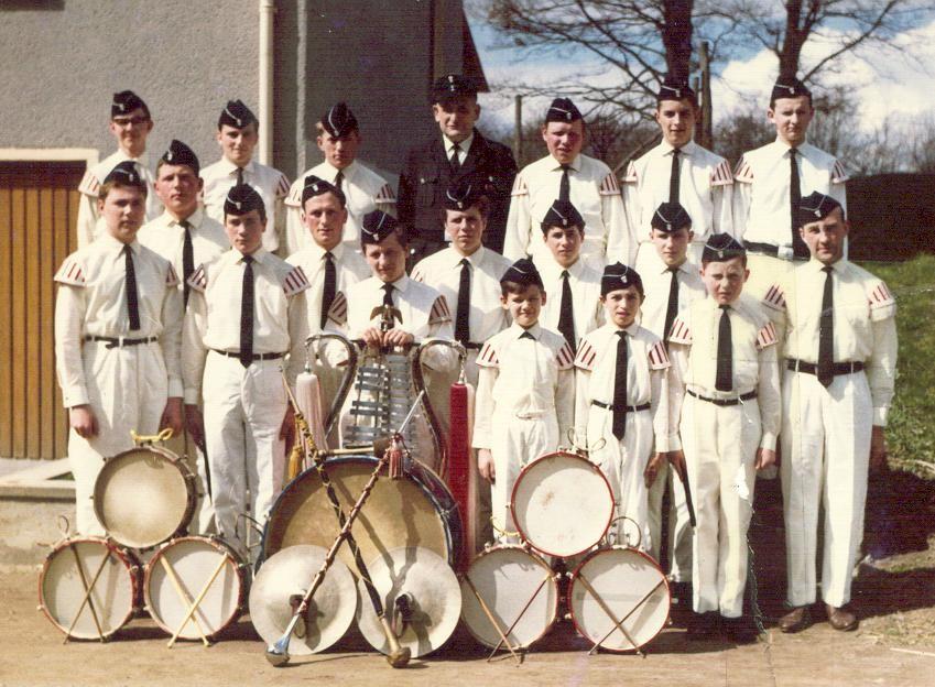 Gründungsfest der freiwilligen Feuerwehr Binningen - 1966