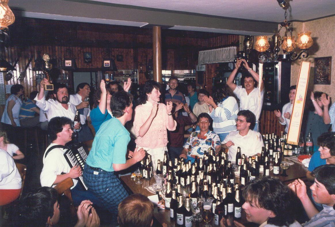 Erfolgsfeier - Mühlhausen - 1986