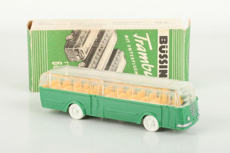 Wiking Werbemodell Büssing (1) grün im ORK - ZUSCHLAG Auktionshaus Wrede 550,– Euro