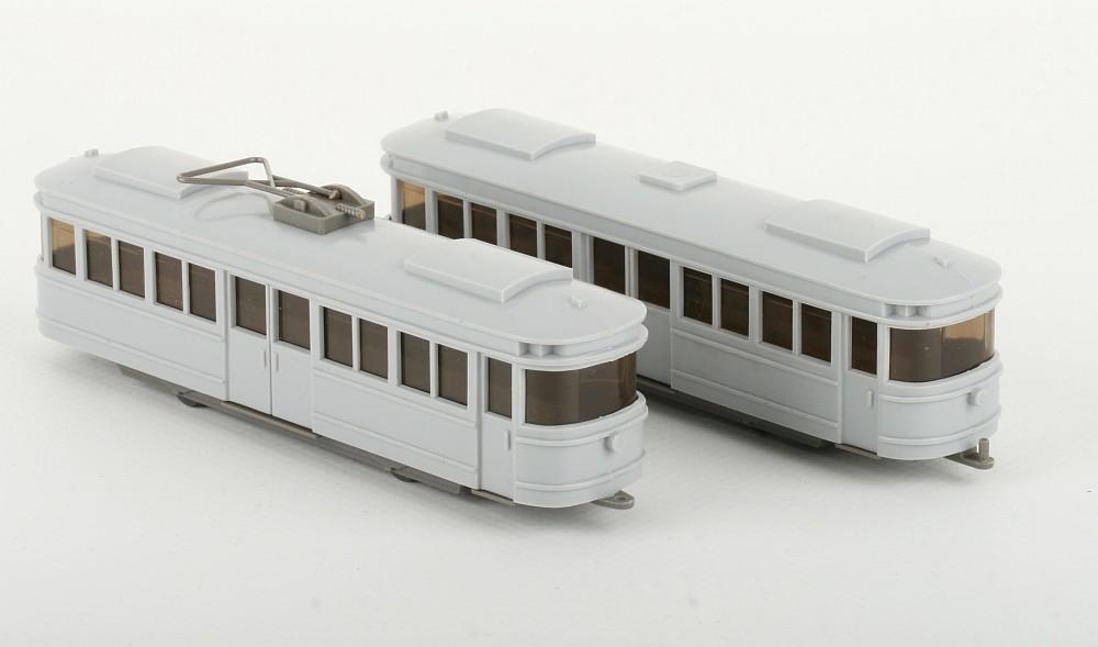 Wiking Vorserie Straßenbahn silbergrau - ZUSCHLAG Auktionshaus Wrede 950,- Euro