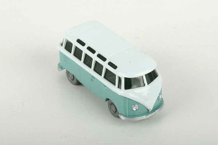 Wiking VW Samba h'-wässrigblau/türkis - ZUSCHLAG Auktionshaus Wrede 700,– Euro