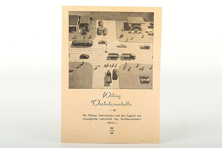 Wiking Katalog 1949 - ZUSCHLAG Auktionshaus Wrede 370,– Euro
