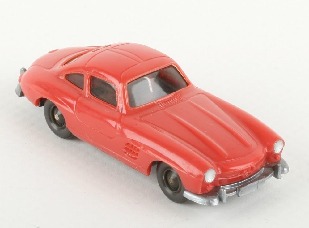 Wiking Mercedes 300 SL rosé - ZUSCHLAG Auktionshaus Wrede 550,- Euro