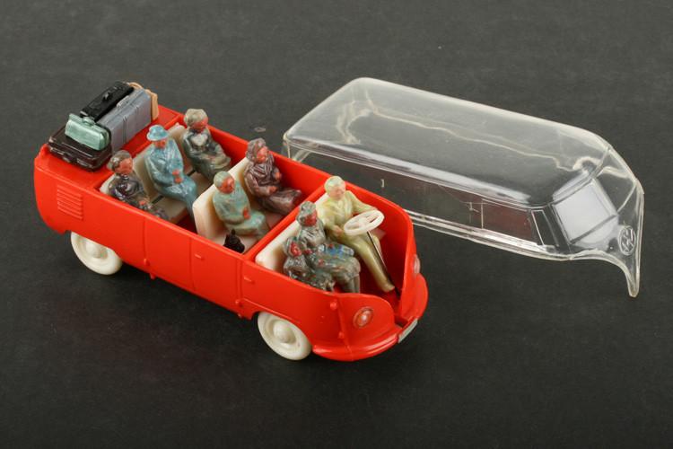 Wiking 1:40 VW Bus leuchtorange/transparent - ZUSCHLAG Auktionshaus Wrede 2.100,– Euro