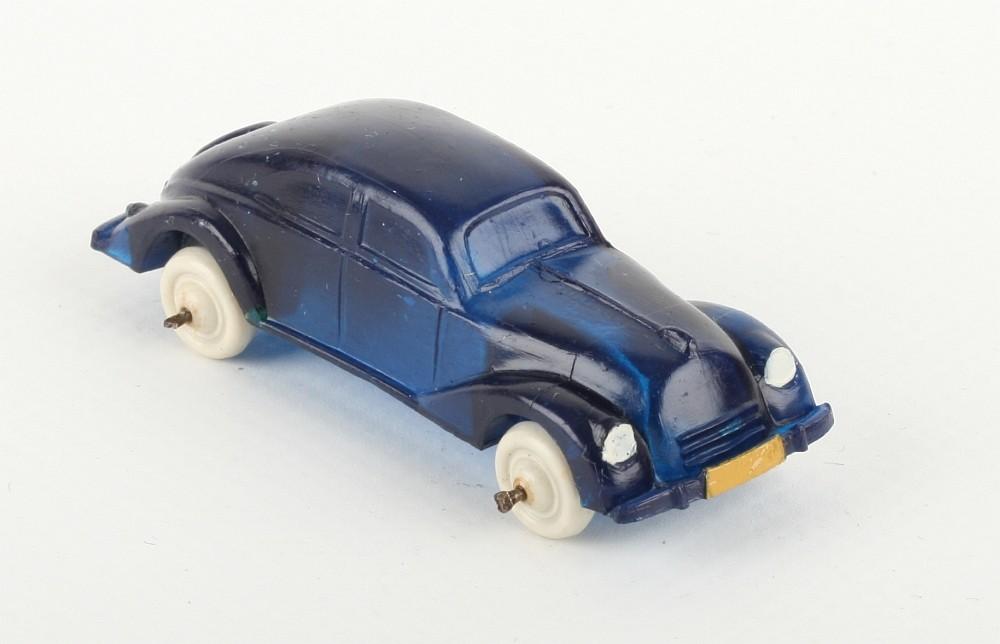 Wiking Schräghecklimousine blautransparent - ZUSCHLAG Auktionshaus Wrede 3.300,- Euro