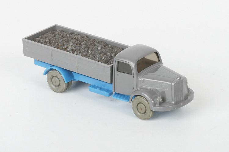 Wiking Mercedes 3500 Kohle basaltgrau/himmelblau - ZUSCHLAG Auktionshaus Wrede 800,– Euro