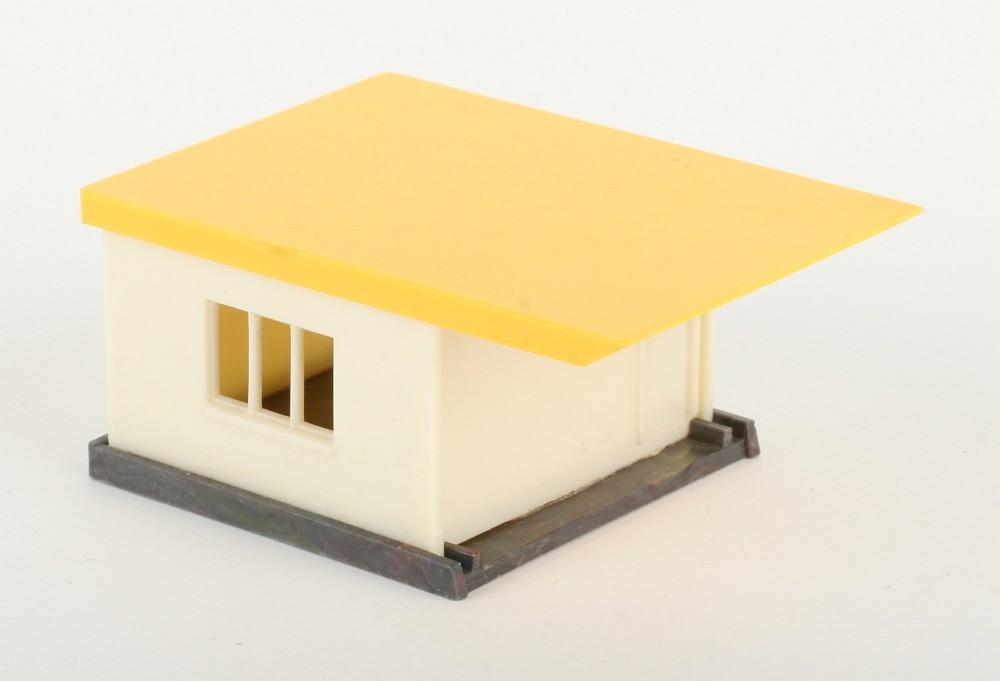 Wiking Haus zur Tankstelle mit gelbem Dach - ZUSCHLAG Auktionshaus Wrede 1.300 ,- Euro