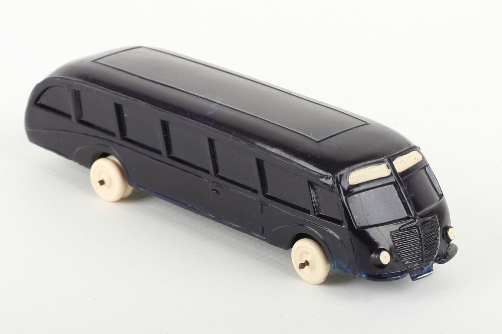 Wiking Stromlinienbus blauviolett - ZUSCHLAG Auktionshaus Wrede 3.000,- Euro