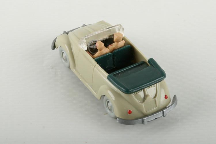Wiking VW Käfer Cabrio grünlichbeige - ZUSCHLAG Auktionshaus Wrede 700,– Euro