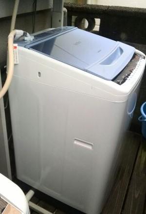 2016.11 オーブントースター(バルミューダ!)設置・洗濯機交換