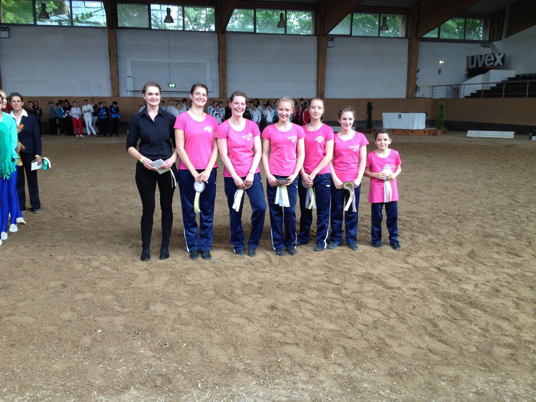 Platz zwei der Juniorteams für den VV Starnberg