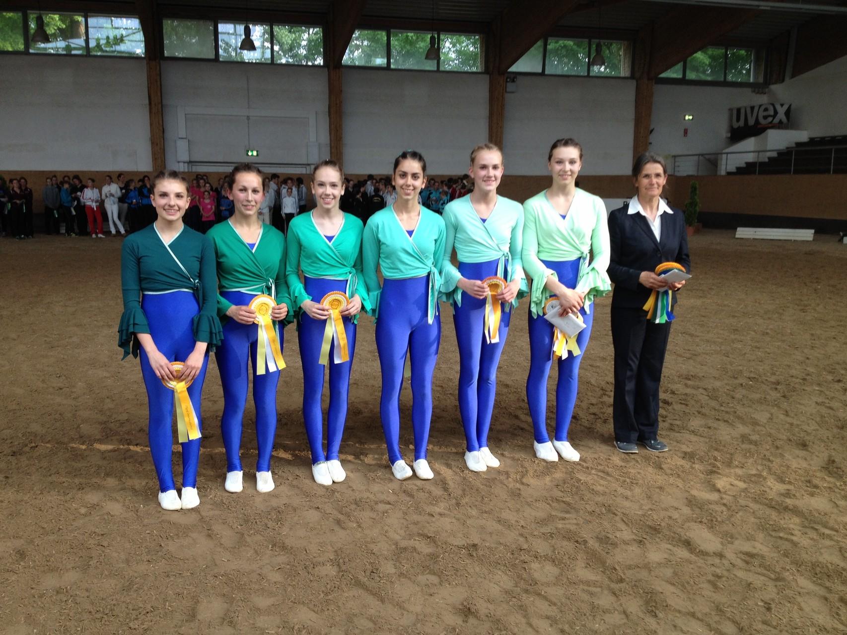 Souveräner Sieger bei den Juniorteams: Münsterschwarzach