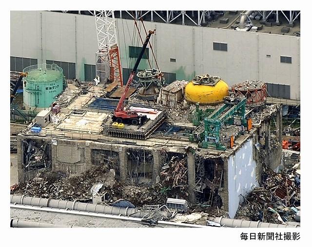 武藤さんのお話の資料より、福島原発の写真