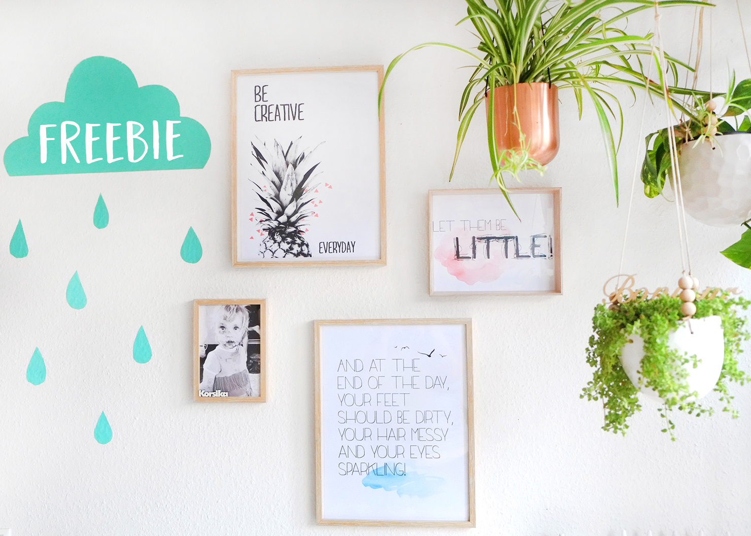 Eine neue Kindermalecke + drei Poster-Freebies!