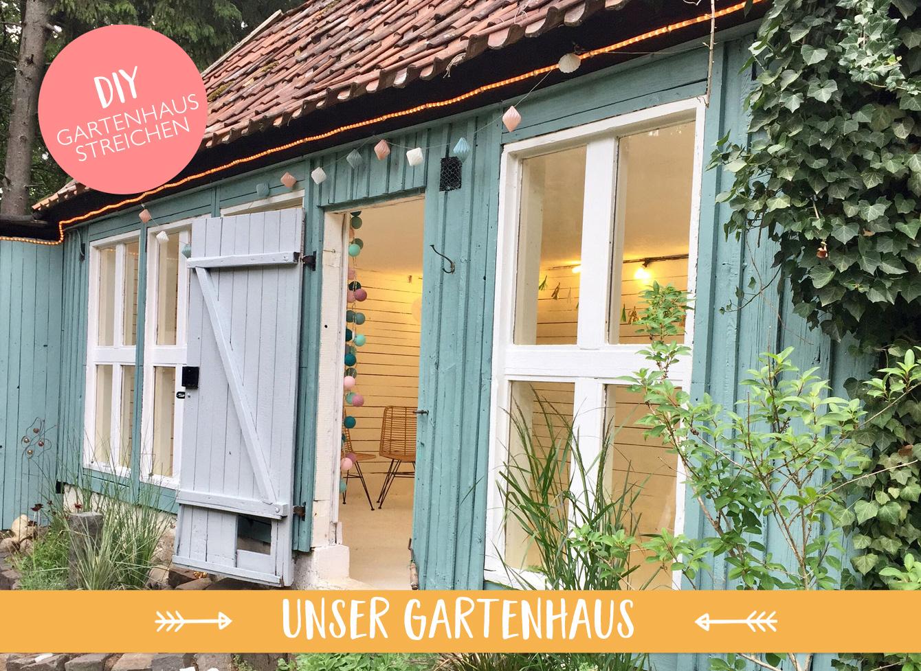 Unser Haus: Das Gartenhaus ist fertig!