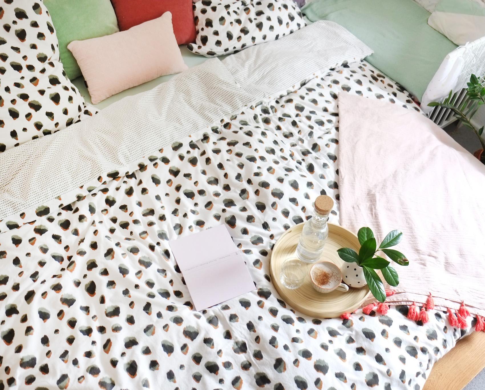 Unser Haus: das Schlafzimmer gemütlich machen!