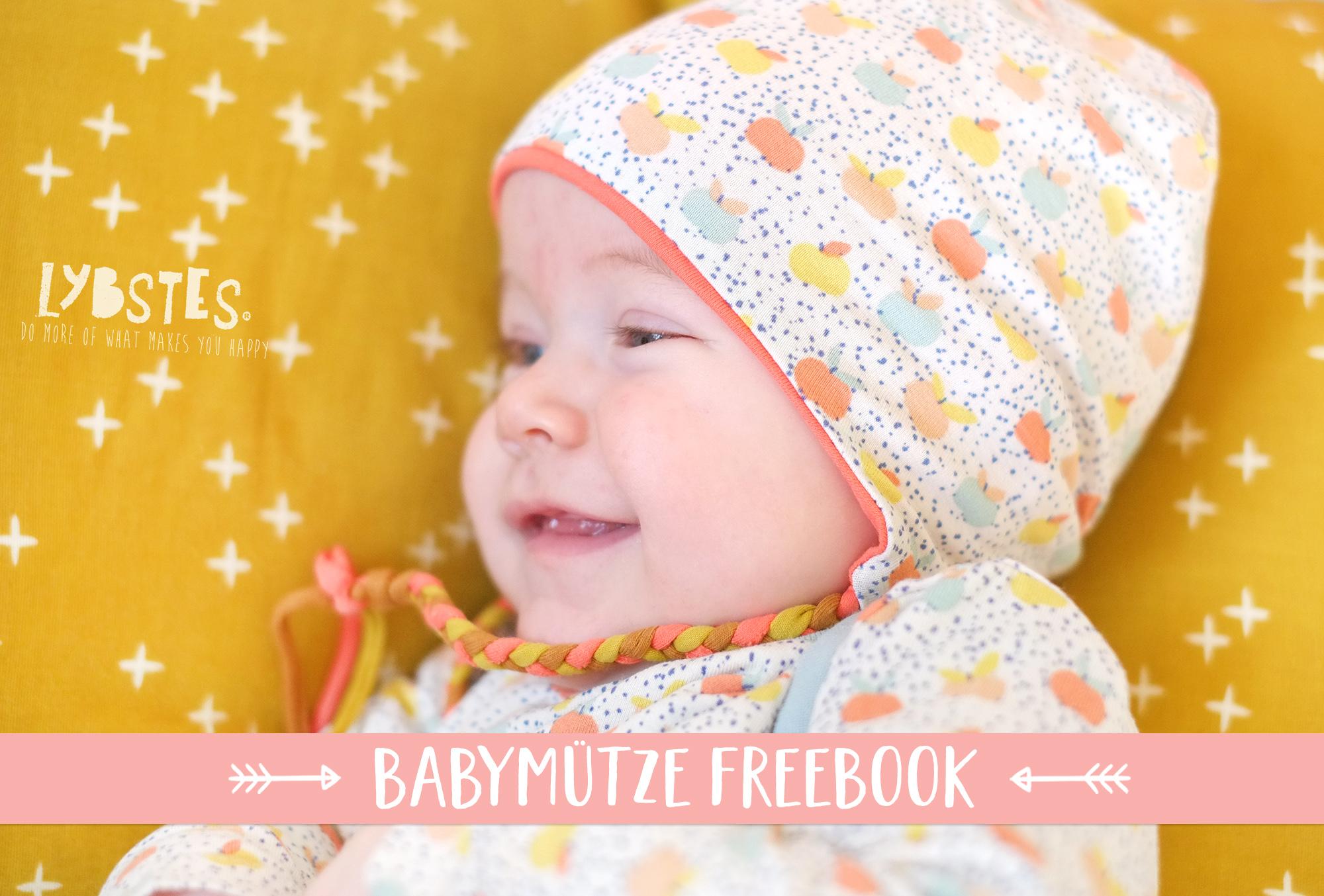 FREEBOOK: Babymütze mit Ohrenschutz nähen