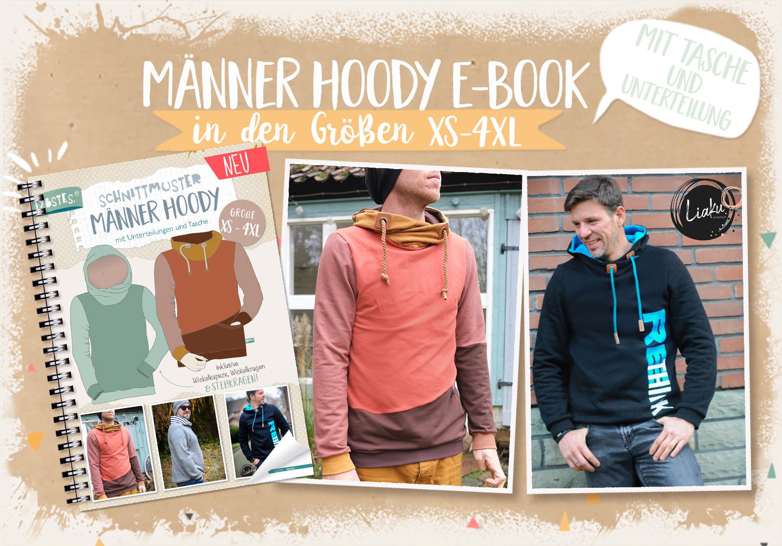"""Out now: """"Männer Hoody"""" in XS - 4XL"""