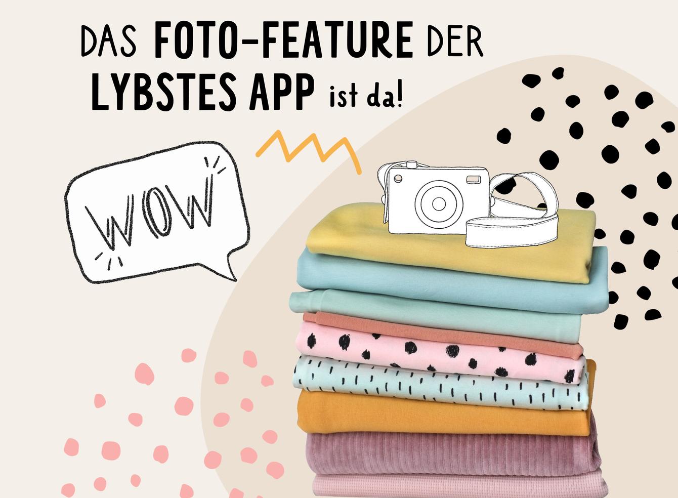LYBSTES APP: Das Foto-Feature ist da!!!