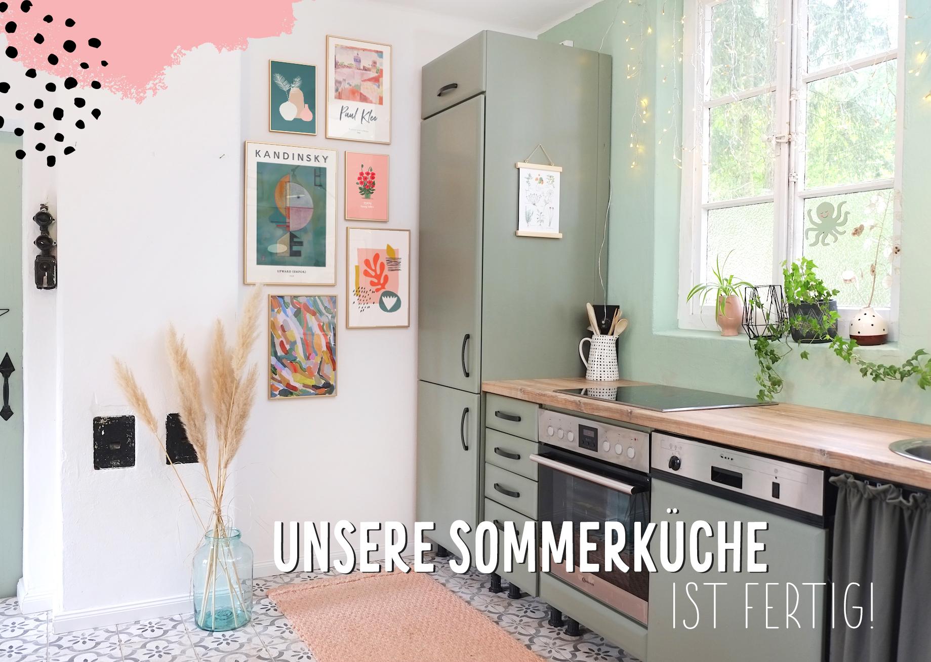 Haus: unsere neue Stall-Sommerküche