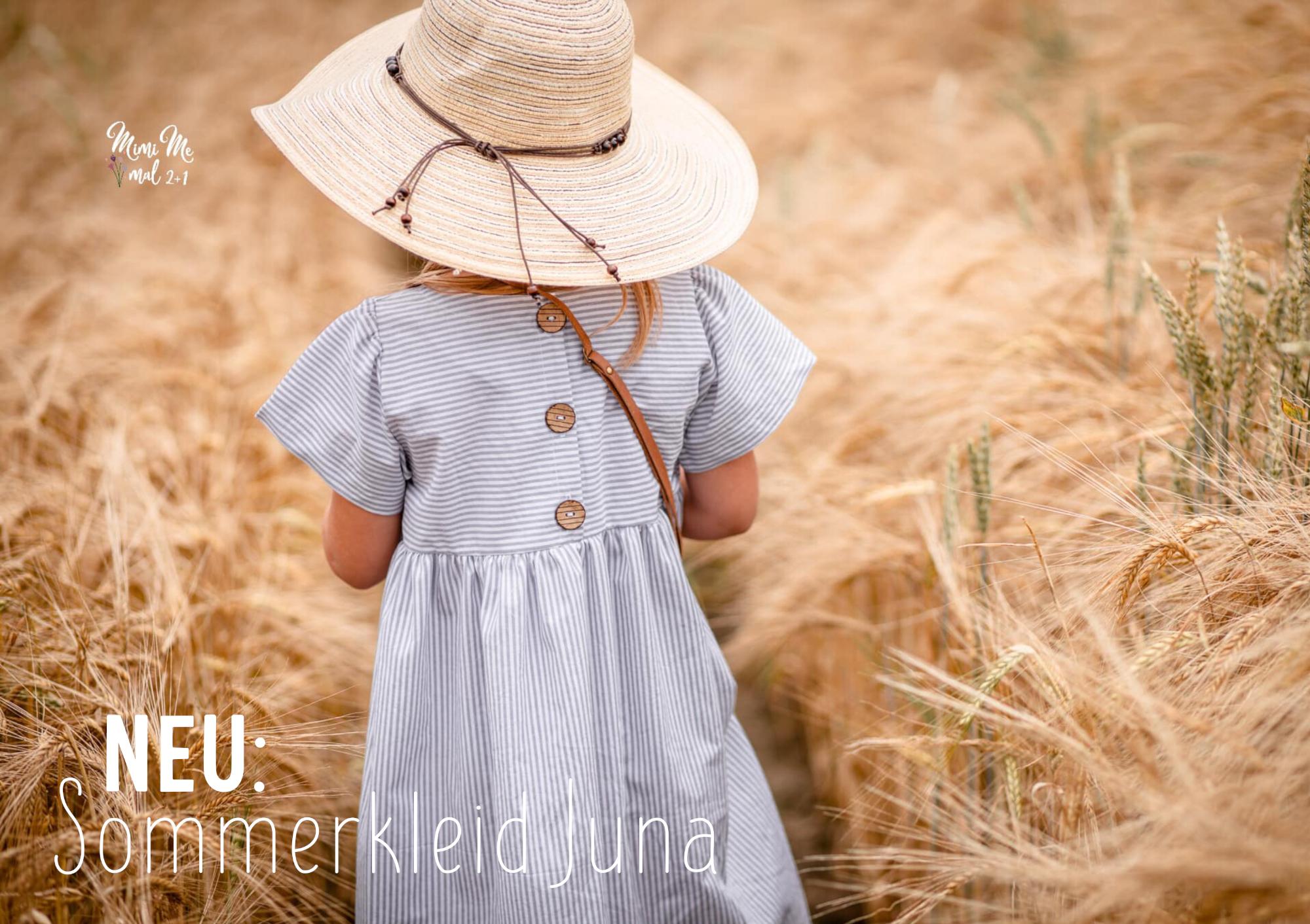 NEU: Sommerkleid Juna - der erste Lybstes Schnitt für Webware