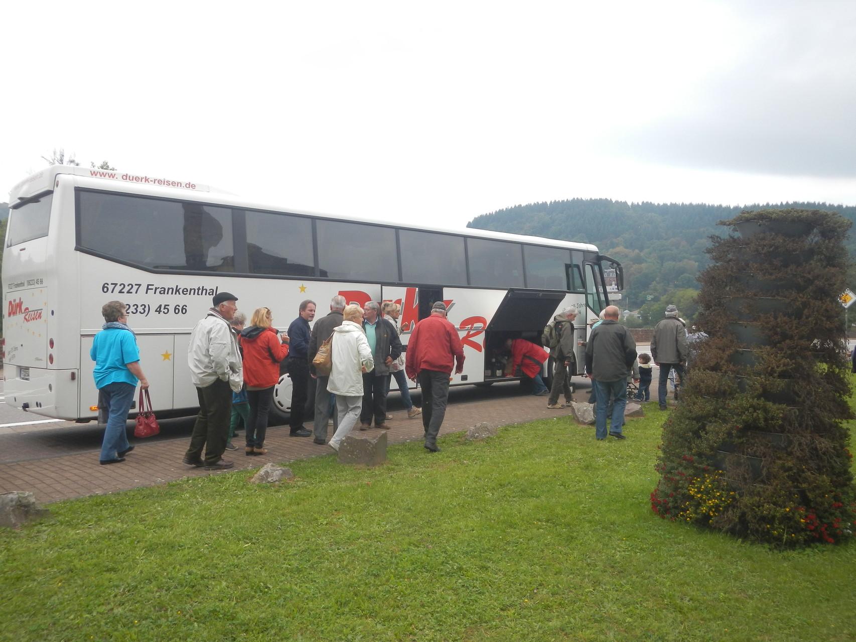 Busanreise nach Mettlach