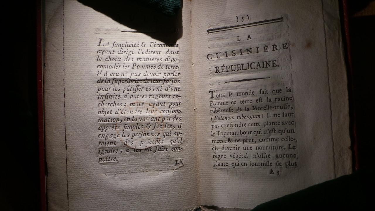 """« La cuisinière républicaine"""" de Madame Mérigot"""