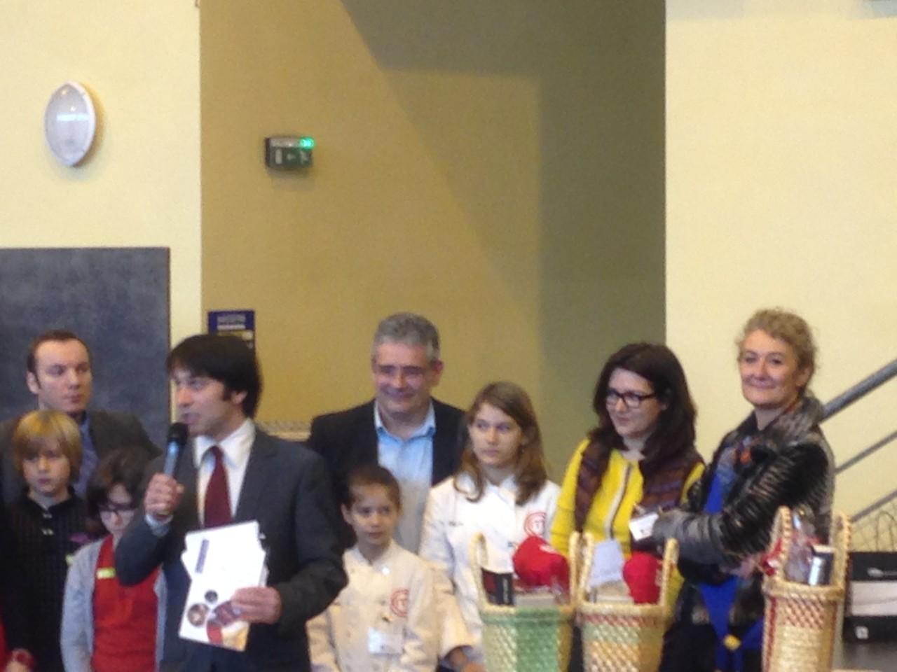La remise du prix APICIUS à Vincent Marcilhac