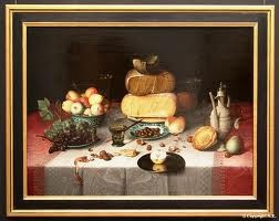 Van Dijck-Nature morte aux fromages
