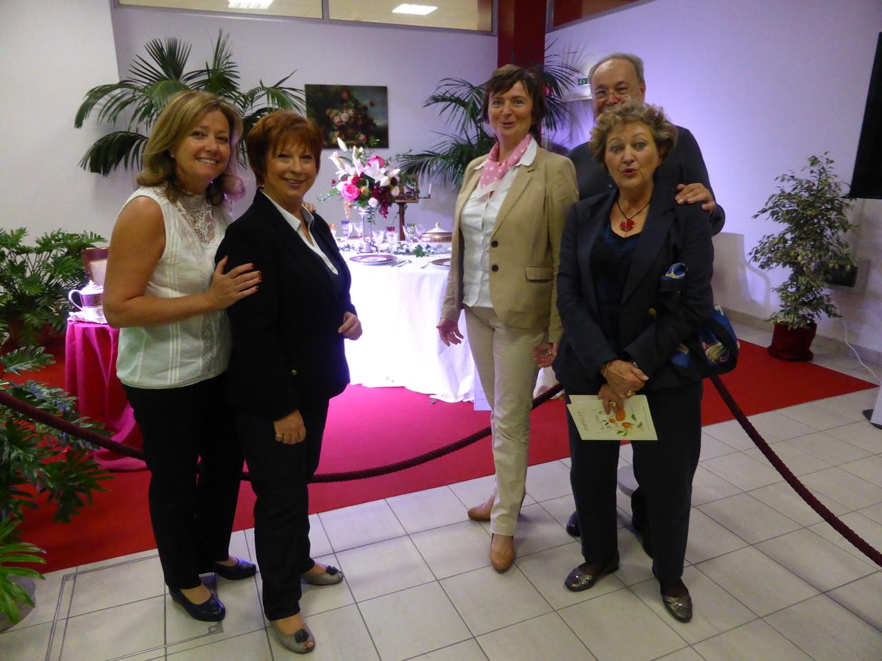 Les passionaria des arts de la table avec Laure Déroche, maire de Roanne