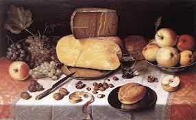 Van Dijck-Fromage et noix, couteau