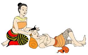 Symbolbild Thai Massage Steyr Kopf