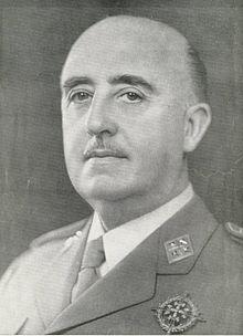 General Franco, Foto aus Wikipedia
