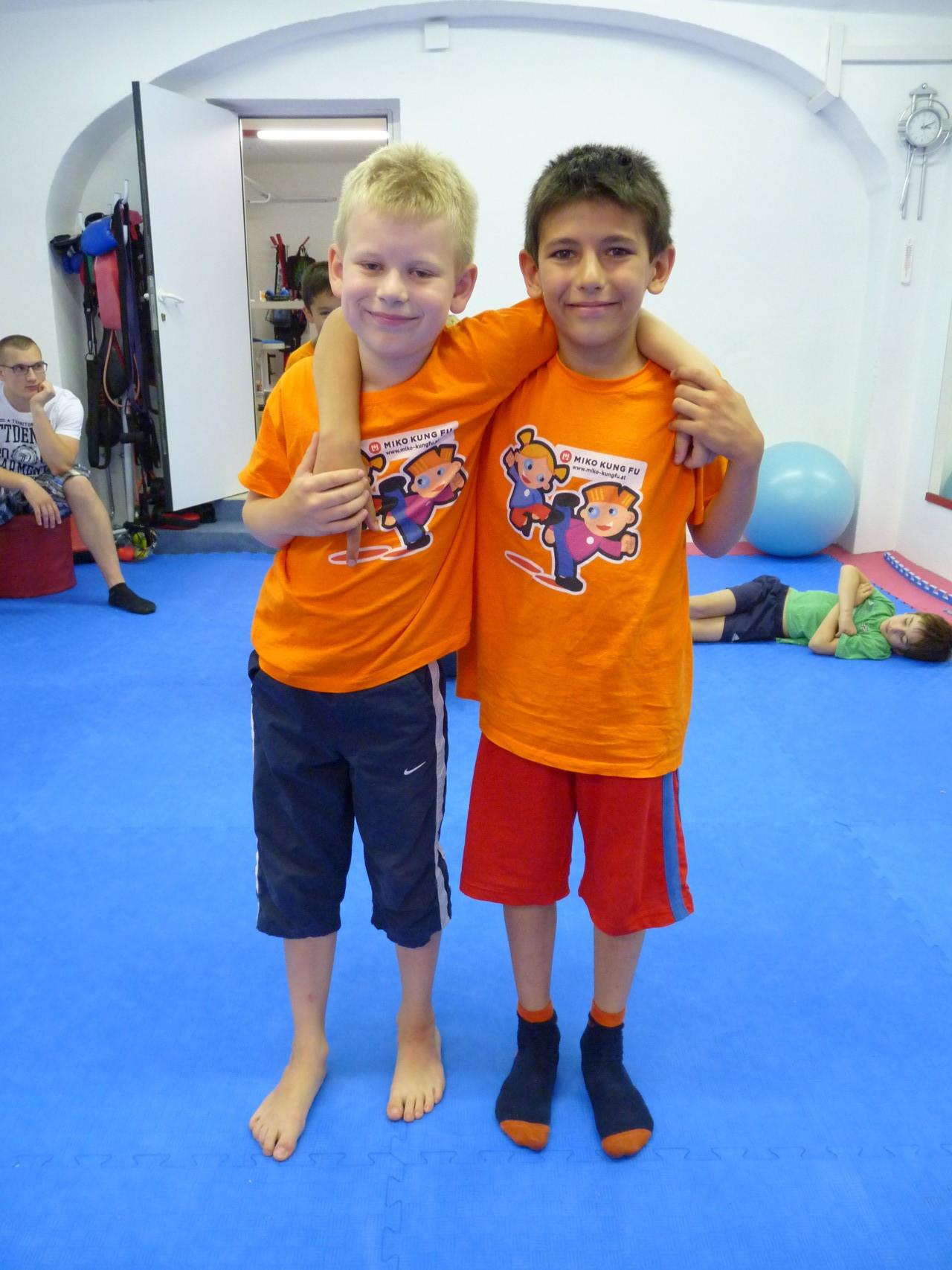 Moritz und Daniel