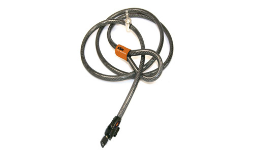 antivol cable à clé KTM D12mm, L2000mm   18€95