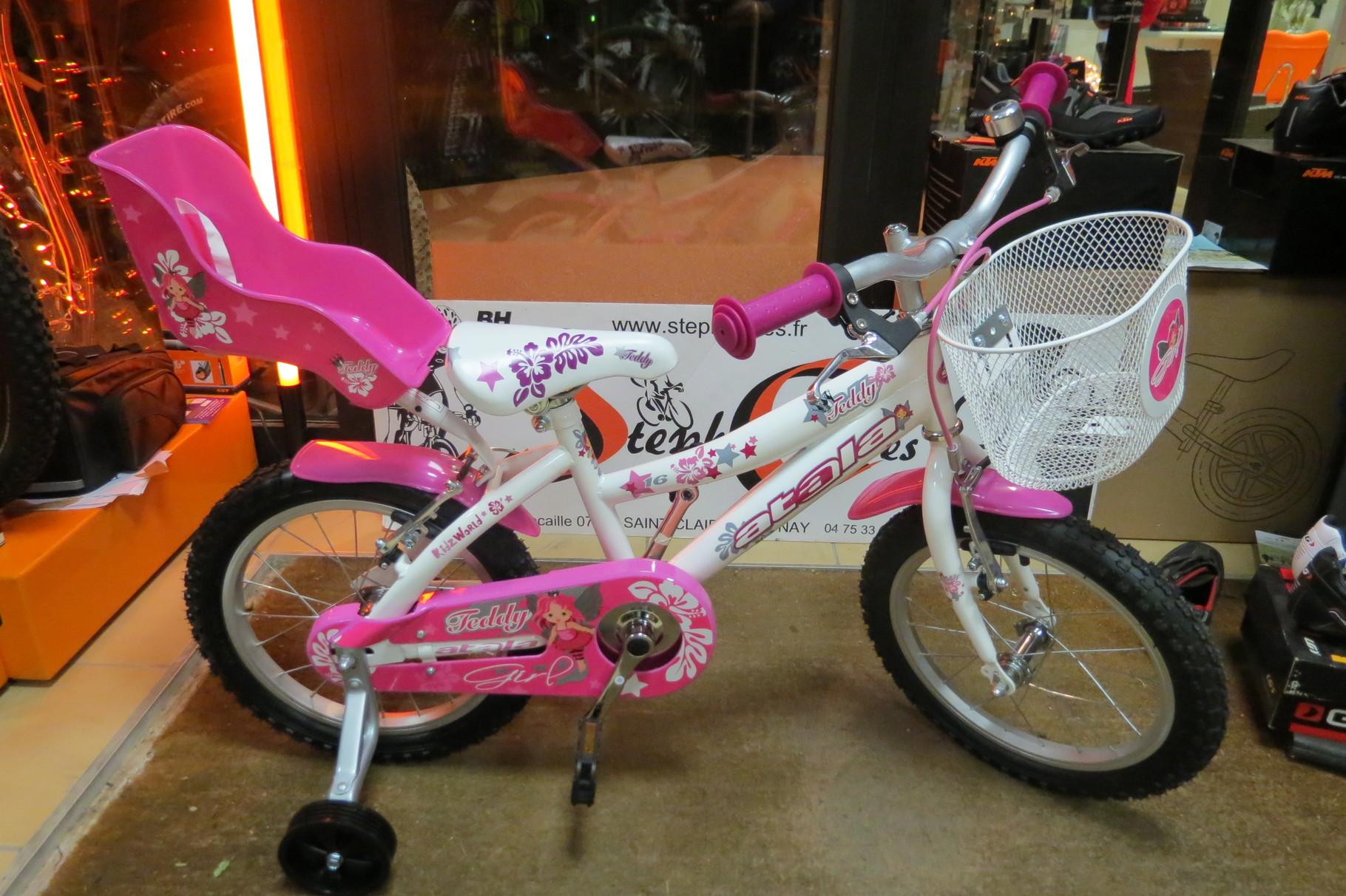 vélo fille avec panier 16 pouces  ATALA
