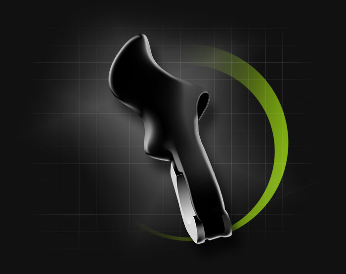 poignée spirgrips ergonomique 110g    79€95