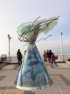 海ほたる 環境アートモニュメント
