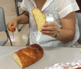 Iさんのプロ級のチーズパン あっという間になくなりました